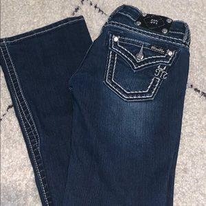 Miss Me Boot Leg Jean. Size 26